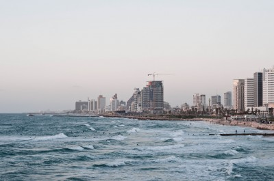 Tel Aviv Beach at Sunset, © Gregor Pogöschnik
